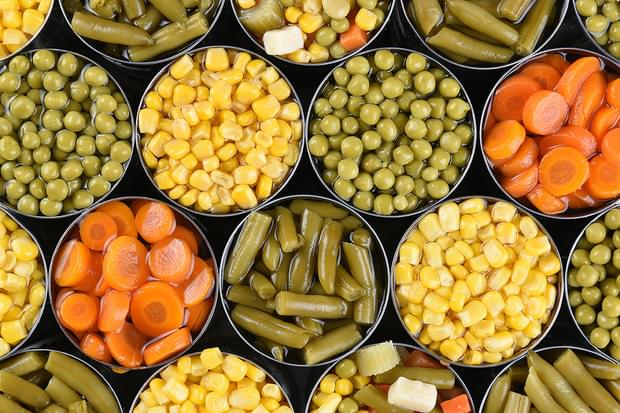 De ce legumele conservate NU conțin conservanți