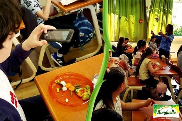 Educaţie prin joc: 1000 de copii au descoperit importanţa alimentaţiei sănătoase în atelierele Bonduelle - Şcoala Altfel. Masa Altfel