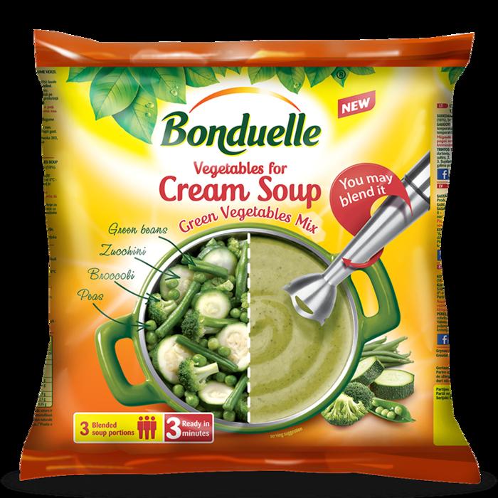 Овочева суміш «Крем-суп Зелений»