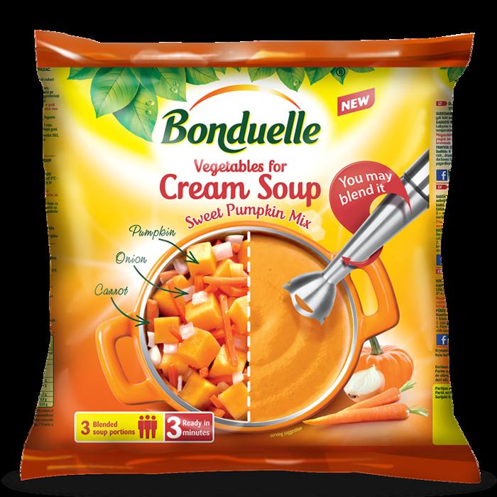 Овочева суміш «Крем-суп Гарбузовий»