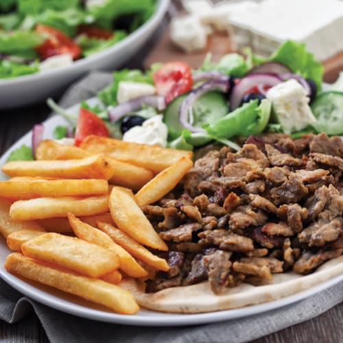 Pureći giros - tradicionalni grčki recept