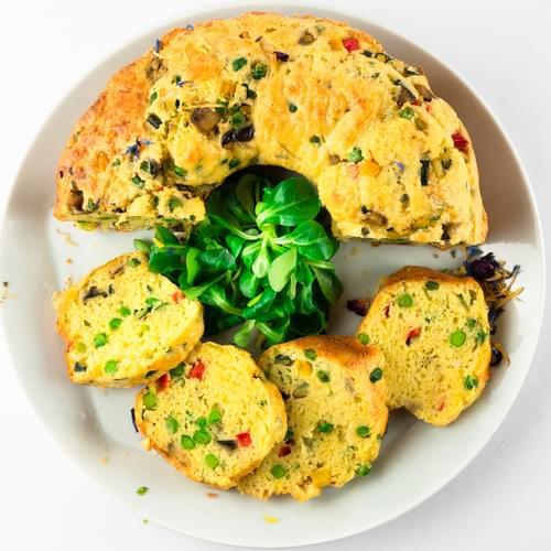 Кейк със зеленчуци