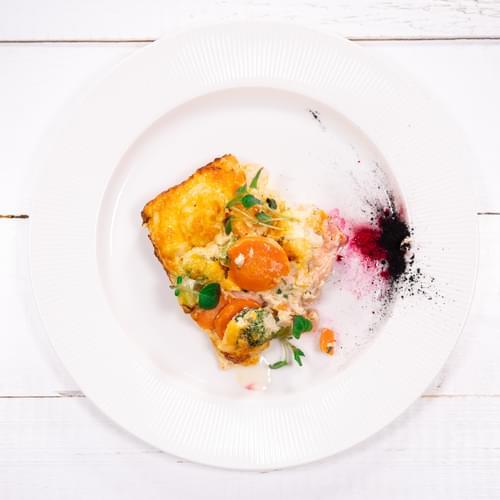 Зеленчуково суфле
