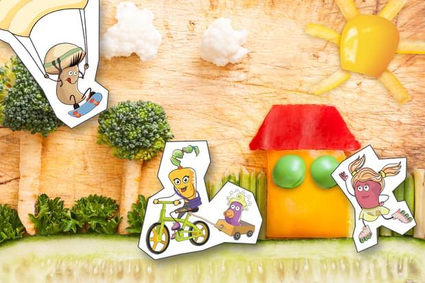 Παιδιά vs λαχανικά:1-1!