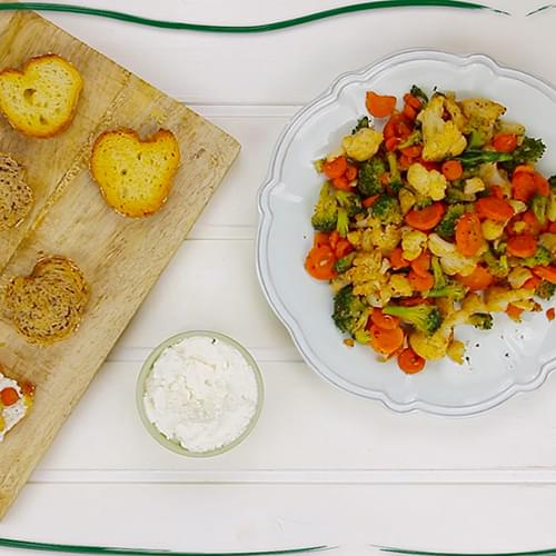 ΛΑΧΑΝΙSTAS Αρωματικές μπρουσκέτες 3 λαχανικών