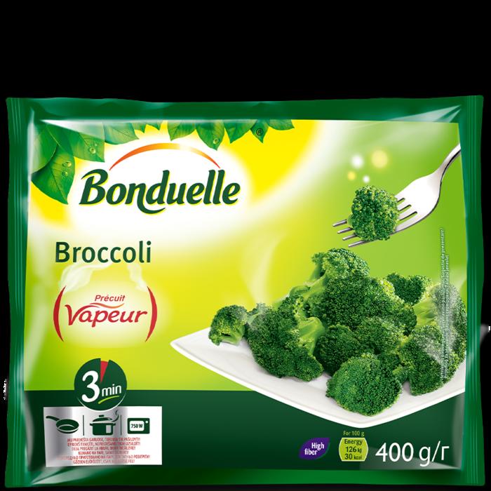 Brokula Vapeur, brzo smrznuto