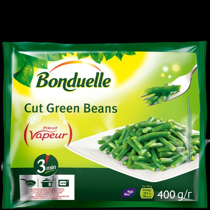 Zelene rezane mahune Vapeur