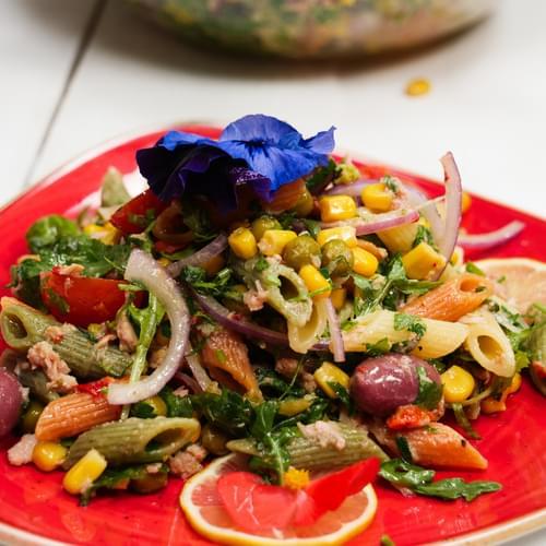 Meksička salata s tjesteninom i tunom