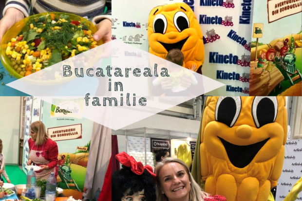 Bonduelle participă la Bucătăreala în familie cu Irinuca și Doamna Măr în cadrul Baby Boom