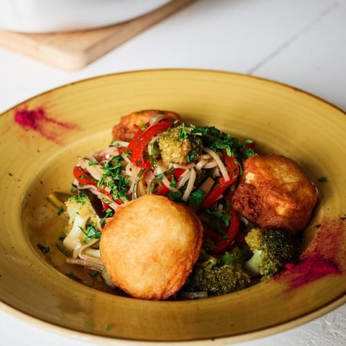 Tăiței chinezești cu broccoli