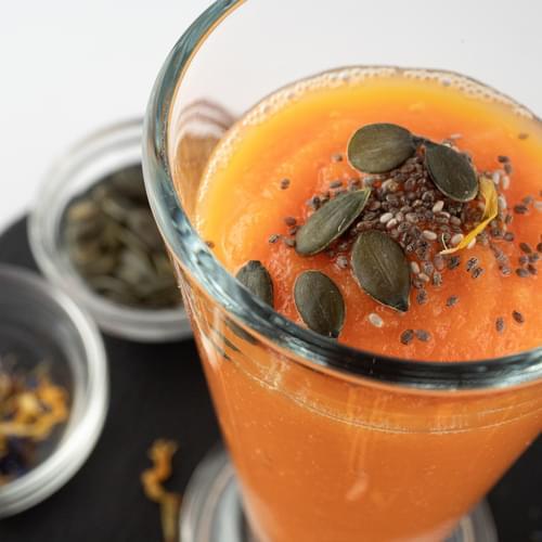 Smoothie de morcovi și mango