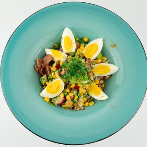 Salată cu legume mexicane și couscous