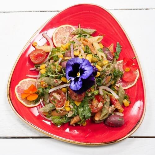 Salată mexicană cu paste și ton