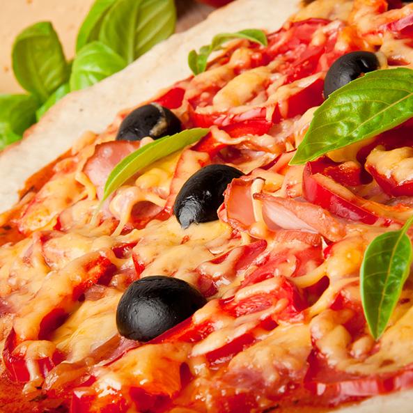 Пицца - блюдо, любимое во всем мире