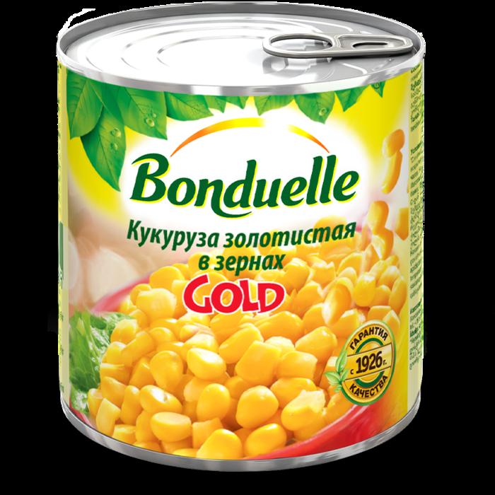 Кукуруза золотистая в зернах GOLD